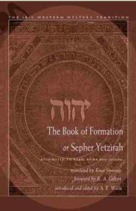 Book of Formation, or Sepher Yetzirah